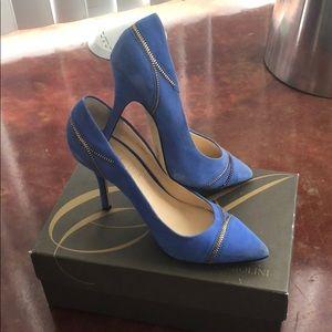 Enzo angiolini size 9.5 blue pumps!!